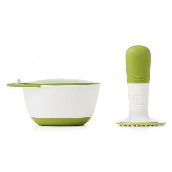 【淘氣寶寶】【美國 OXO】隨行食物研磨碗【原廠公司貨】