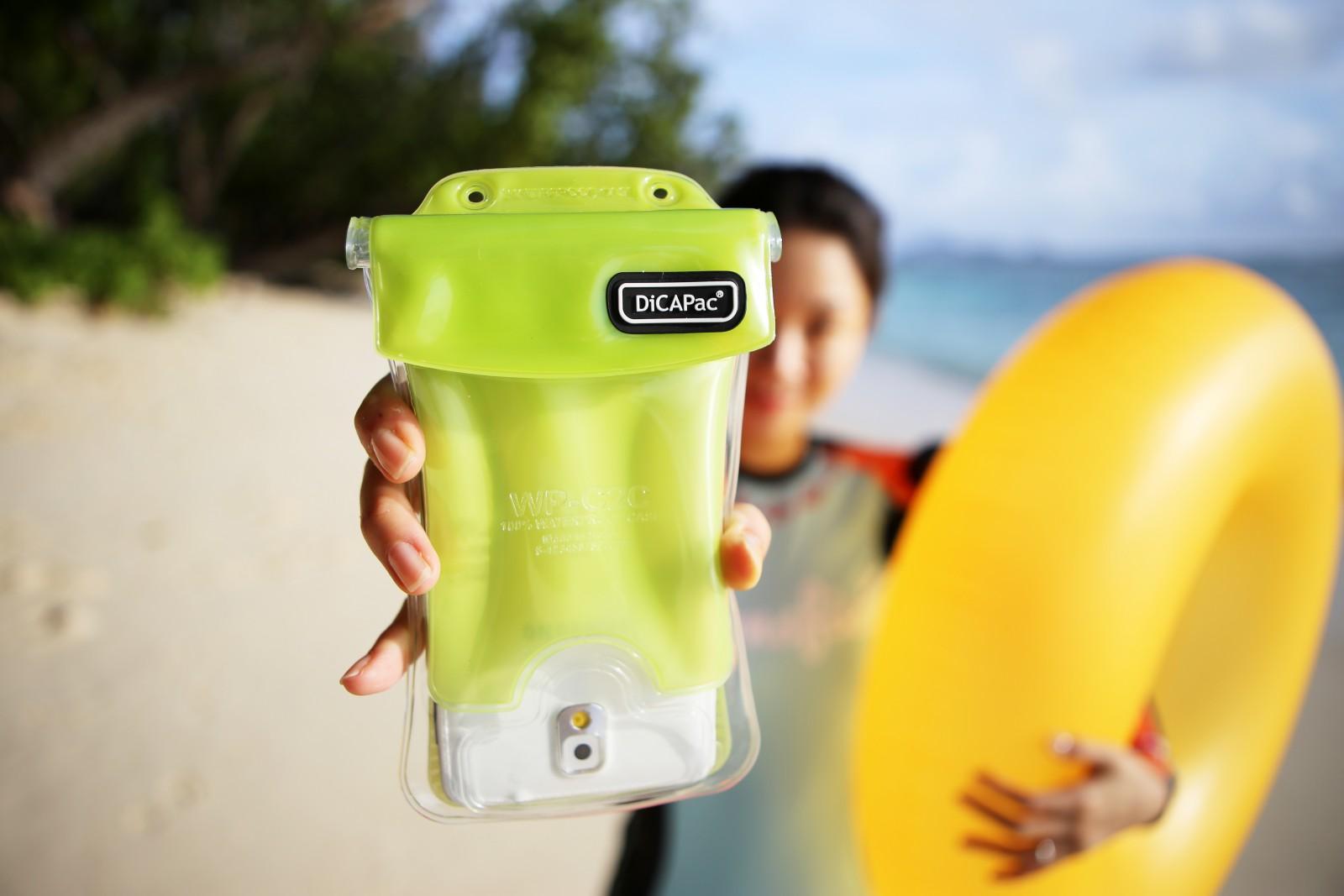 DiCAPac WP-C1s(有現貨)手機防水袋(5.1吋)-青綠色