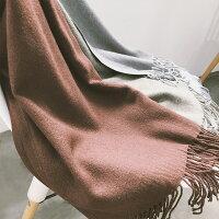保暖配件推薦圍巾推薦到1件就免運-長款純色保暖披肩仿羊絨圍巾/  樂天時尚館。現貨就在樂天時尚館推薦保暖配件推薦圍巾