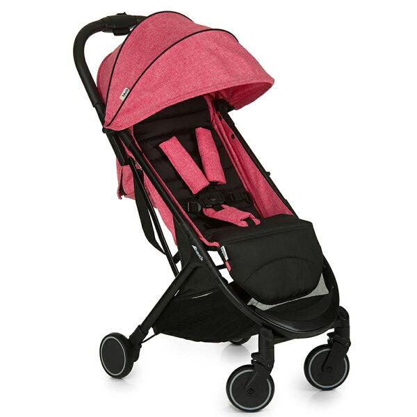 德國Hauck單向嬰幼兒手推車Swift英國玫瑰(MelangeRose)
