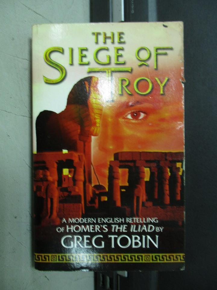 【書寶二手書T8/兒童文學_JRJ】The Siege of Troy