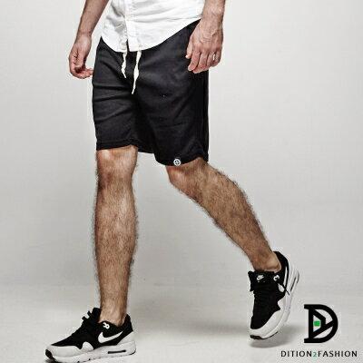 DITION 高回購美式OUTDOOR經典抽繩黑標棉褲短褲 0