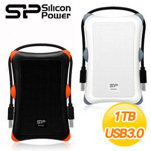 〈商品編號:M20569686〉     Silicon Power A30 軍規防震HDD 1TB 2.5U3 外接式硬碟 黑 白 兩色