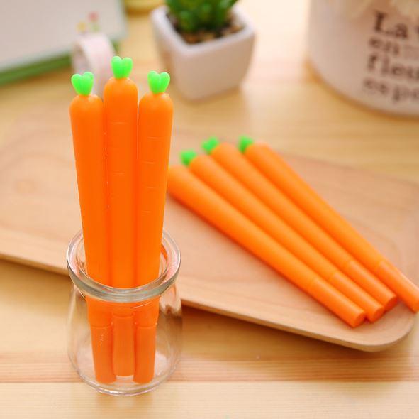 【省錢博士】創意胡蘿蔔蔬菜中性筆