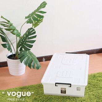 E&J【652090】Mr.box免運費,UN45-床下-整理箱(附蓋)(3入);收納箱/收納袋/衣櫃/衣櫥