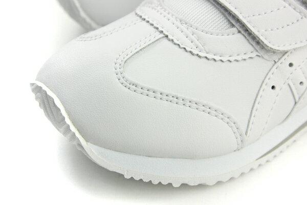 亞瑟士 ASICS  IDAHO MINI SL JP 運動鞋 魔鬼氈 好穿 舒適 白色 童鞋 TUM189-0101 no277 4