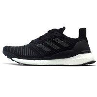 Adidas愛迪達,adidas愛迪達鞋子推薦到【ADIDAS】SOLAR BOOST M 慢跑鞋 運動鞋 黑色 零碼UK8=26.5CM 男鞋 -CQ3171