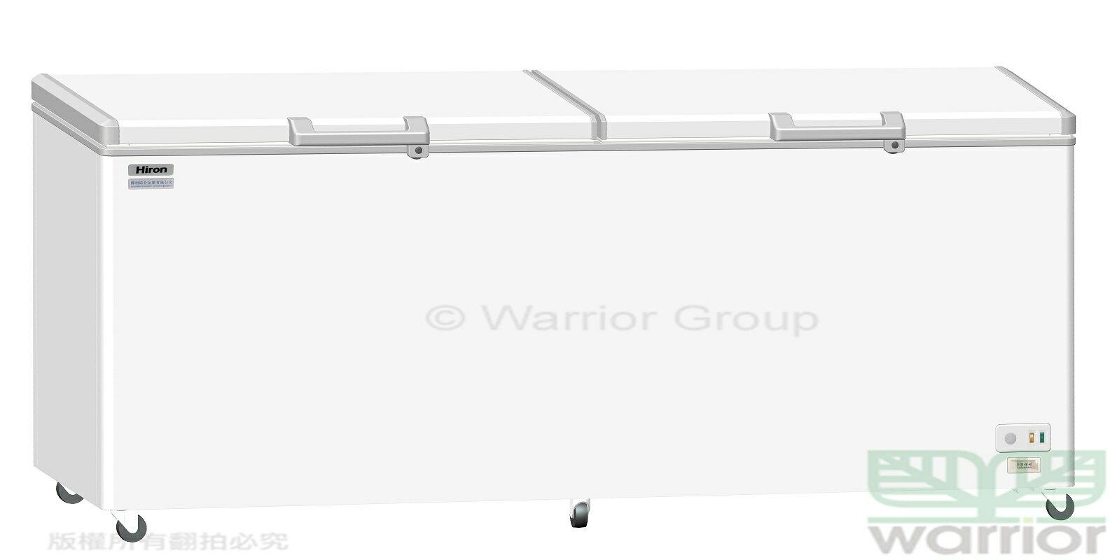 <br/><br/>  Hiron海容 6尺 密閉臥式 雙門冷凍櫃 HBD-658<br/><br/>