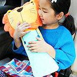 韓國新版汽車安全帶護肩卡通抱枕  KC0889