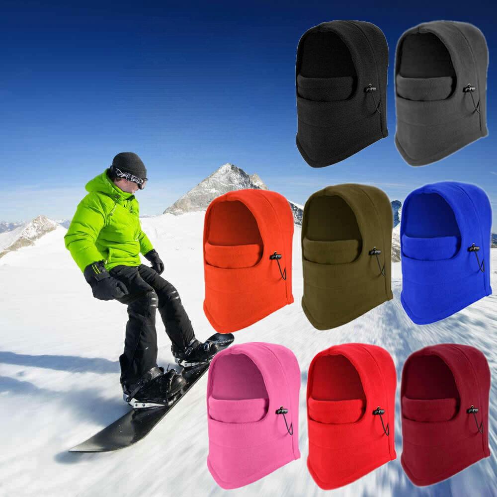 009421d87c4 Thermal Polar Fleece Neck Warmer Full Face Mask Ski Hunting Snowboard  Balaclava 0