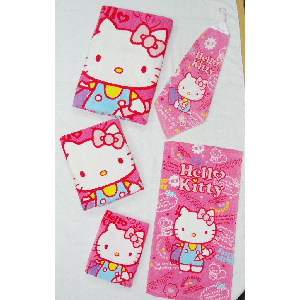 【Sanrio三麗鷗】凱蒂貓寫生毛巾 100%棉 33x76cm