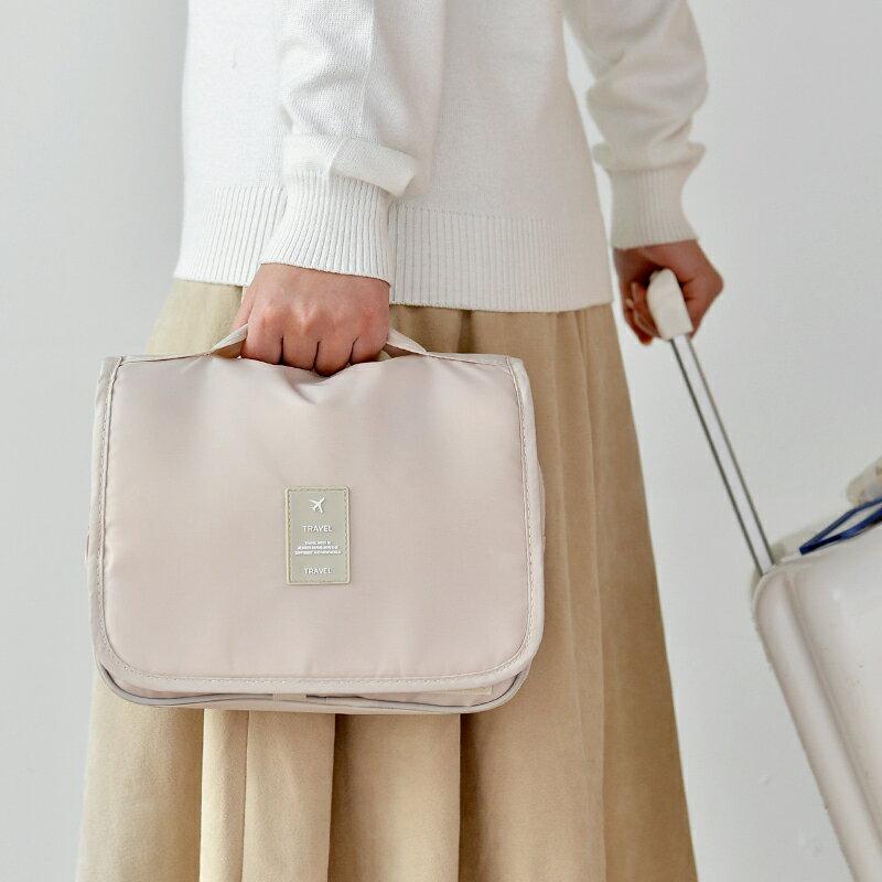 台灣現貨 旅行化妝包 大容量 收納包 收納袋 出國旅行包 拉鏈3C手機耳機用品收納袋多功能女生 保養品小包 4