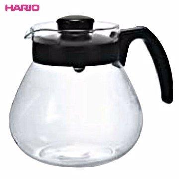 【HARIO】TC-100B 可微波耐熱咖啡壺 1000ml 咖啡壺 茶壺 玻璃壺 熱水壺 刻度 耐熱 弧型把手