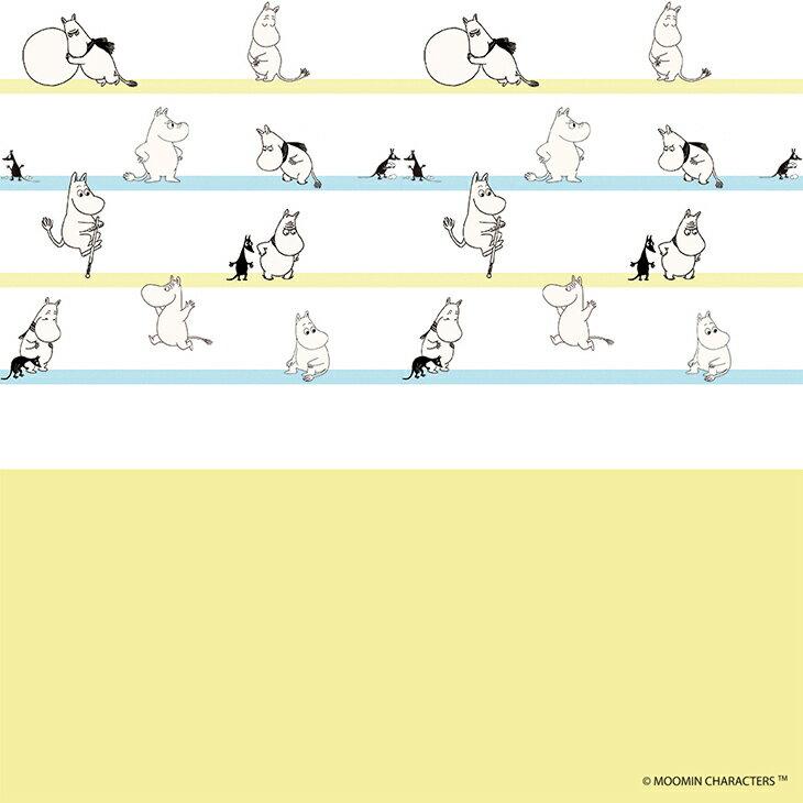 Moomin嚕嚕米 - 壁紙 / 壁畫:【 Moomin撐竿跳 】