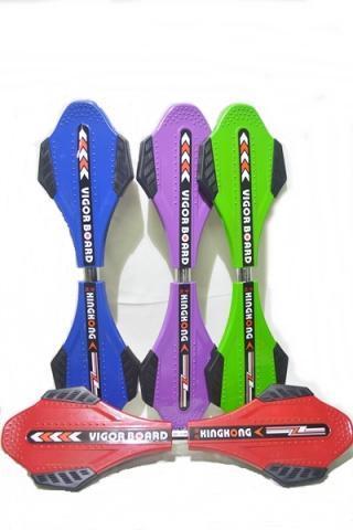 【小工人】正品公司貨 金鋼加寬好安全加强鋁鎂合金活力板 滑板車 甩尾板 游龍板 兩輪蛇板