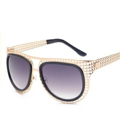 太陽眼鏡偏光墨鏡~ 露框網狀 男女眼鏡 3色73en30~ ~~米蘭 ~
