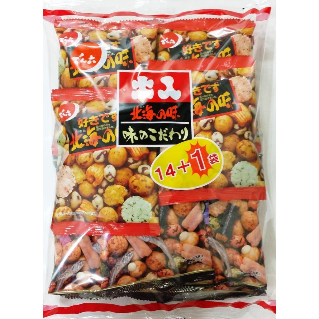 【天六/傳六】二色綜合豆果子15袋入 (351g)
