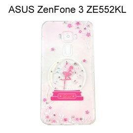施華洛世奇空壓氣墊軟殼 [水晶天使] ASUS ZenFone 3 (ZE552KL) 5.5吋