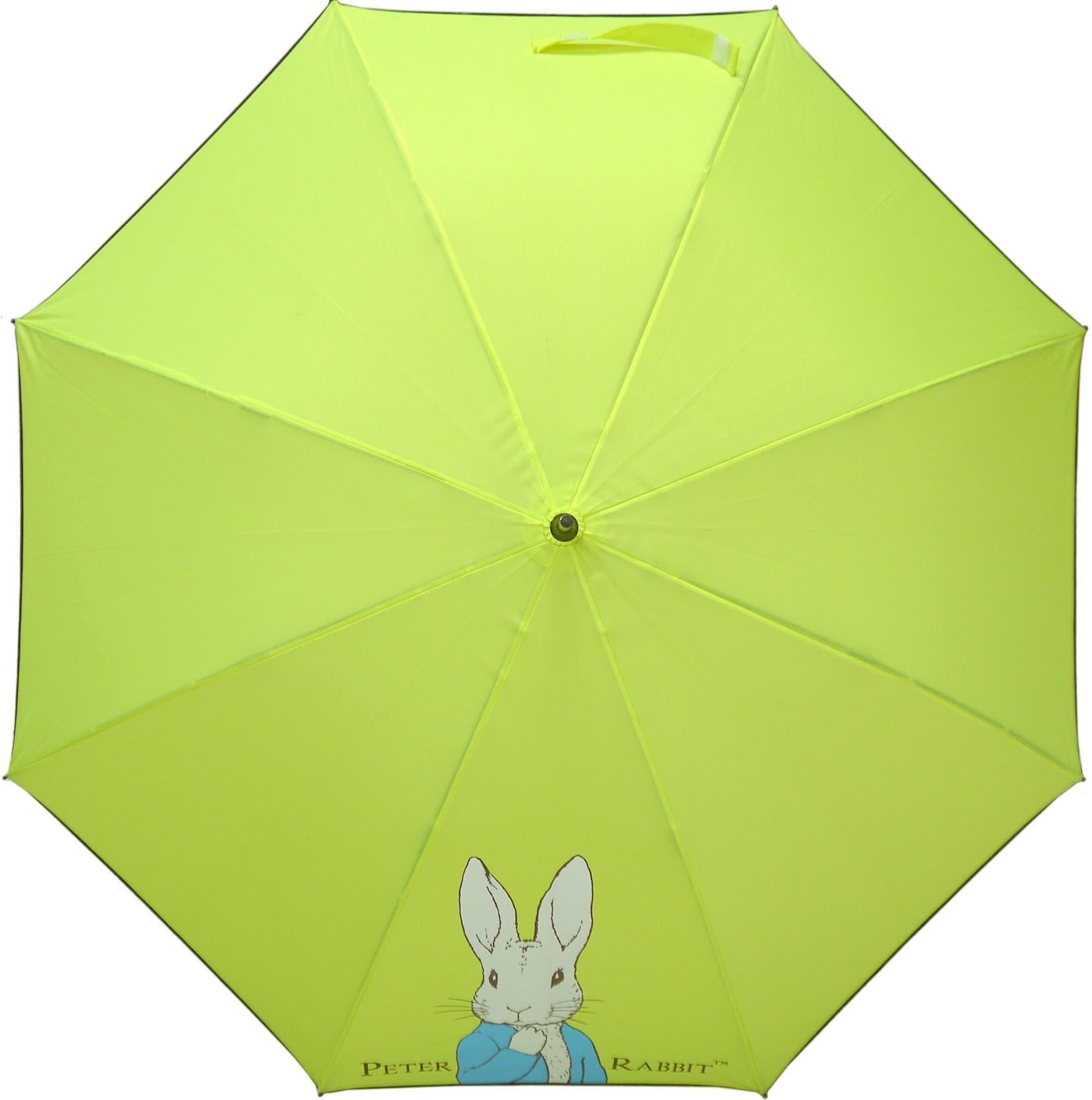 《Annie's Friends》Peter Rabbit 比得兔防曬直傘【螢光黃半身兔】