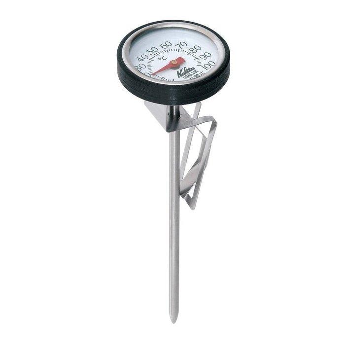 Kalita 日本原裝進口 新款不銹鋼 夾式指針溫度計 奶泡溫度計 手沖必備