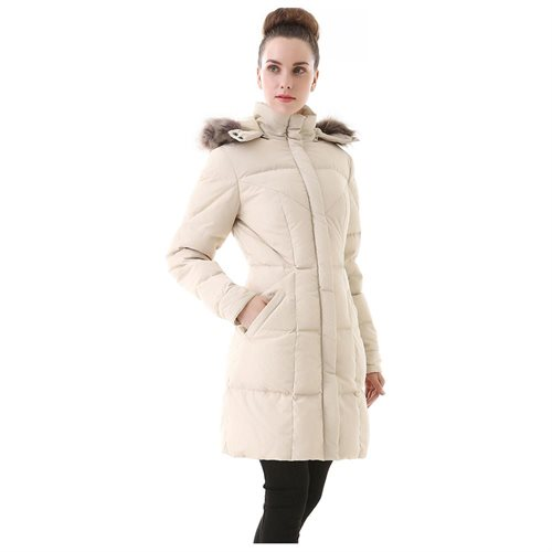 Jessie G. Women's Water Resistant Down Parka Coat 3