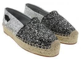 CHIARA FERRAGNI CF899 銀灰色亮片眨眼睛厚底鞋零碼特惠