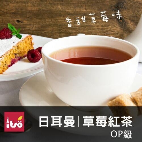 日耳曼草莓紅茶-茶包(10入 / 袋)★濃厚草莓香氣★引進德國工法,最道地的調和紅茶★可調和鮮奶口感更香醇【ITSO一手世界茶館】 0