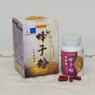 台灣頂級蜂子粉青春膠囊 60顆/瓶 - 嘟嘟家蜂蜜