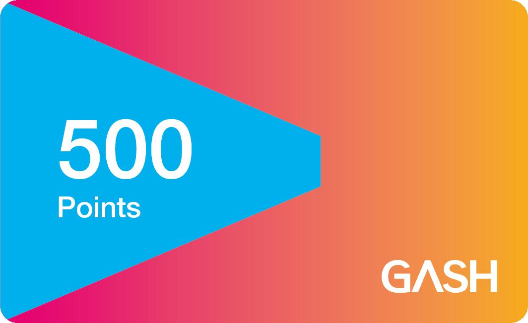 【童年往事】 GASH (實體序號)  500點 遊戲橘子