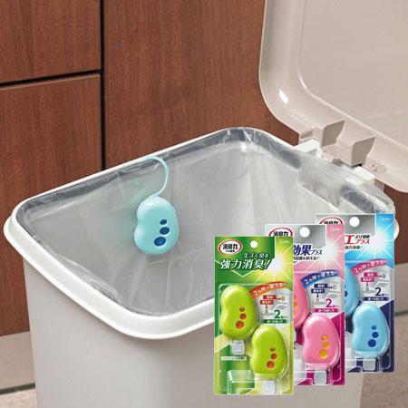 日本 ST雞仔牌 垃圾桶異味消臭力(2入) 3.2ml 芳香劑 除臭 消臭 香氛劑 芳香 垃圾桶【N600274】
