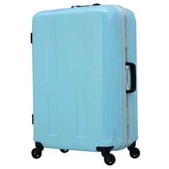 日本 LEGEND WALKER 6022-58-24吋 鋁框超輕量行李箱 海洋藍