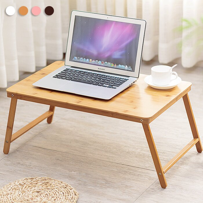 楠竹折疊電腦桌 床上桌 懶人桌子 小茶几 筆電桌 和室桌【YV9694】 快樂生活網