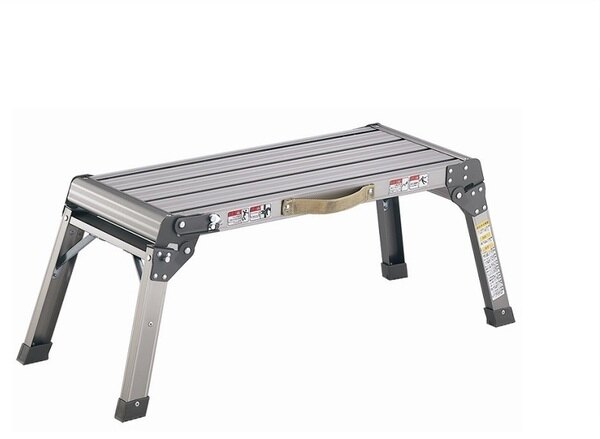 【銳冠】LFG-460鋁製洗車平台摺疊梯家用梯工作梯