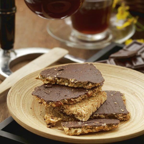 【小麥的家】天然手工餅乾【果麥脆片_巧克力杏仁】(大燕麥片) 1