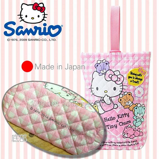 製  三麗鷗 sanrio Hello Kitty 置物袋  掛袋  收納袋~ 可掛嬰兒床