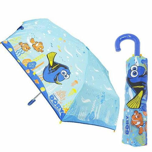 sightme看過來購物城:90213【日本進口正版商品】海底總動員輕量型雨傘陽傘折疊傘附傘套迪士尼Disney-045374