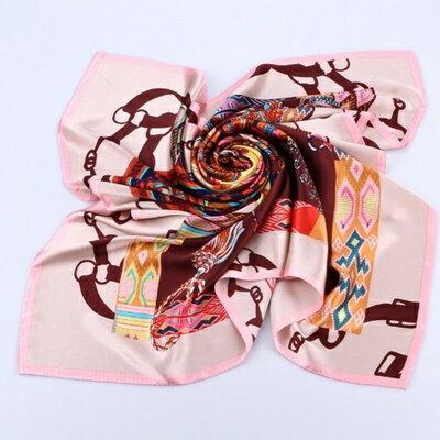 絲巾桑蠶絲圍巾-柔軟質感大方流行女配件5色73hx4【獨家進口】【米蘭精品】