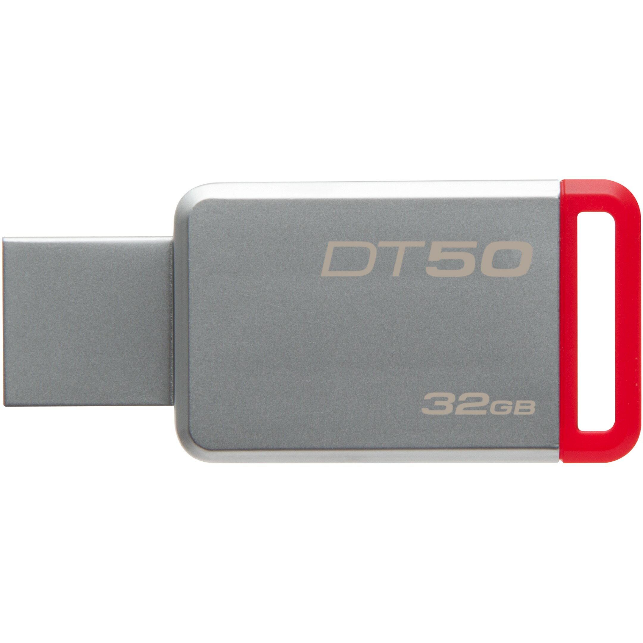 Kingston 32GB DataTraveler 50 32G DT50 USB 3.1 Gen 1 USB 3.0 110MB/s Flash Pen Thumb Drive DT50/32GB 1
