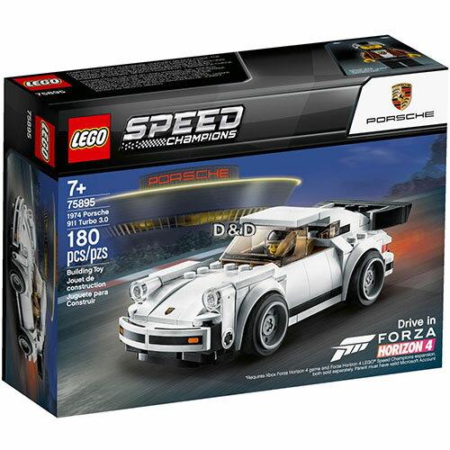 樂高LEGO 75895 SPEED CHAMPIONS 系列 - 1974 Porsche 911 Turbo 3.0 - 限時優惠好康折扣