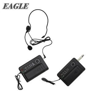 ★綠G能★ EAGLE 專業級VHF可調頻腰掛無線麥克風(EWM-V8)送領夾式麥克風預購