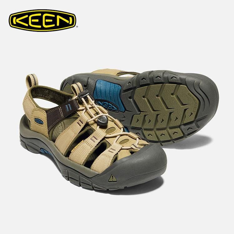 KEEN 男款 織帶涼鞋Newport Hydro 1018813 / 城市綠洲 (水陸兩用、輕量、戶外休閒鞋、運動涼鞋)