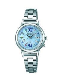 ❤情人節Valentine's Day❤女朋友專區SEIKO 精工 LUKIA 綺麗旅程 限量款 太陽能電波腕錶女錶 藍 1B25-0AF0B(SSVV023) 28mm