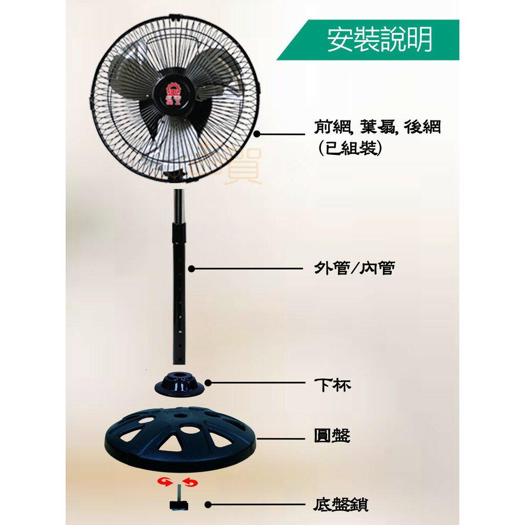 【超商499免運】晶工牌10吋超強風循環電扇 LC-1013 循環扇 電風扇 涼風扇 360度電扇 旋轉風扇 台灣製造