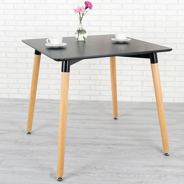 優世代居家生活館:餐桌洽談桌造型桌《Yostyle》貝絲特北歐風餐桌(沉穩黑)