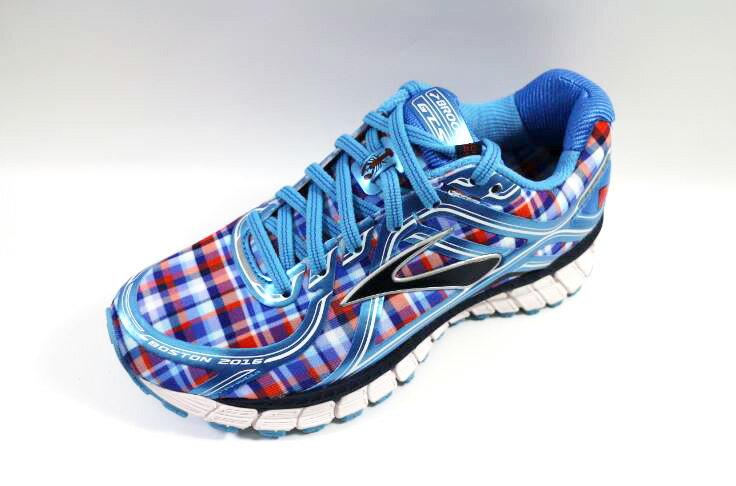 [陽光樂活] BROOKS (女) 慢跑鞋 ADRENALINE GTS 16 -1202031B498 格紋 童趣 鯨魚 科技感