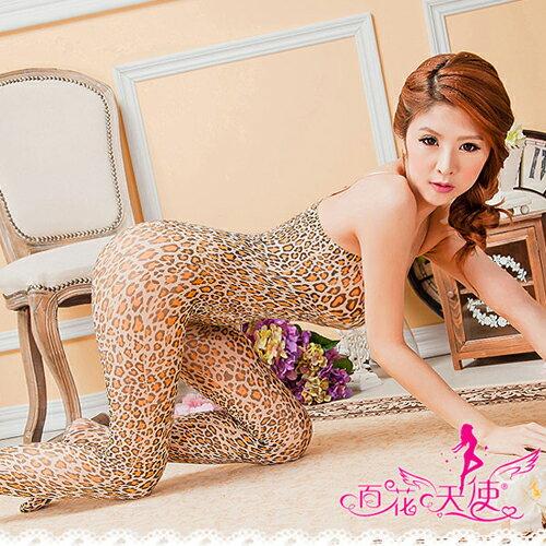 【亞娜絲情趣用品】角色扮演豹紋連身貓裝角色扮演情趣睡衣
