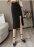 日本La-gemme  / 預購2020 / 03月底 日本發貨來台  /  スカート ロング レディース マキシ丈 ロングスカート ボトムス 楽ちん おしゃれ 可愛い ブラック メール便 2020春夏新作 S / M / L / XL 【1008-gt445】   /  1008-gt445  /  日本必買 日本樂天直送(3980) 4