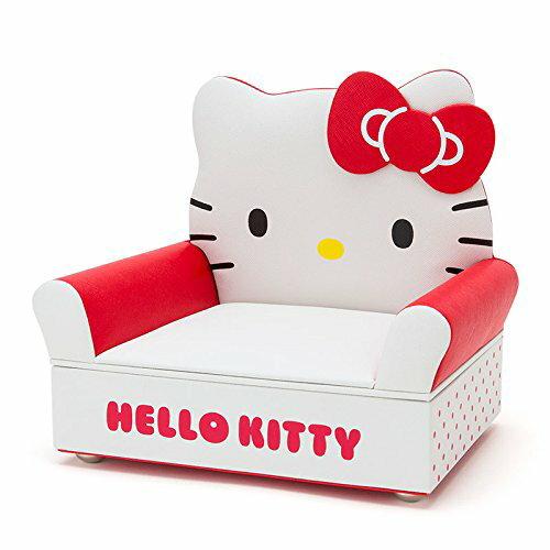 X射線【C481141】Hello Kitty 沙發型飾品盒,珠寶收納架/耳環收納/飾品收納/首飾收納/珠寶盒/收納盒