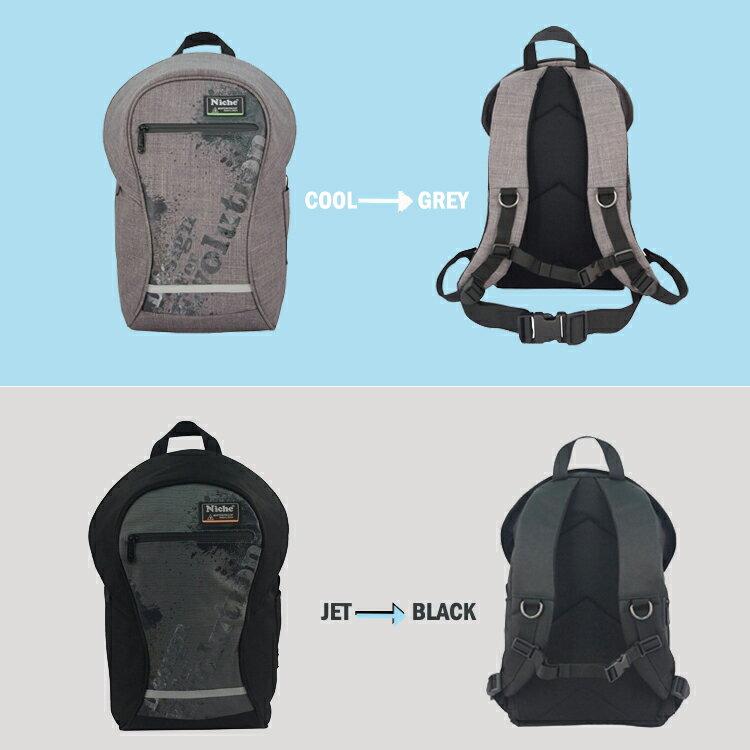 Niche 都會圓筒防水後背包 24L 戶外休閒背包 都會電腦包 【N-5202】 7