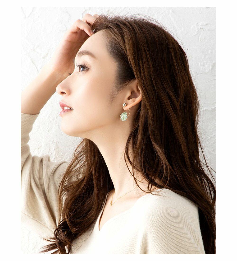 日本CREAM DOT  /  小清新鋯石耳環  /  d00086  /  日本必買 日本樂天直送(1690) 1